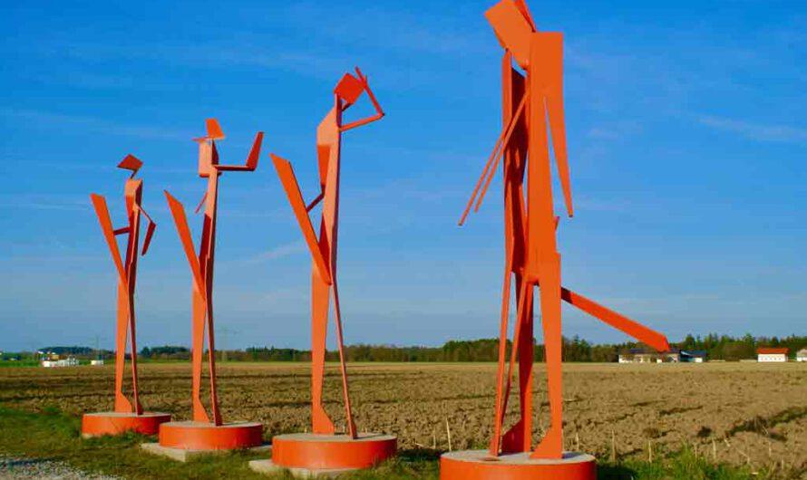 Skulpturengärten von Georg Mayerhanser