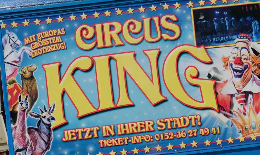 Circus King sagt Danke