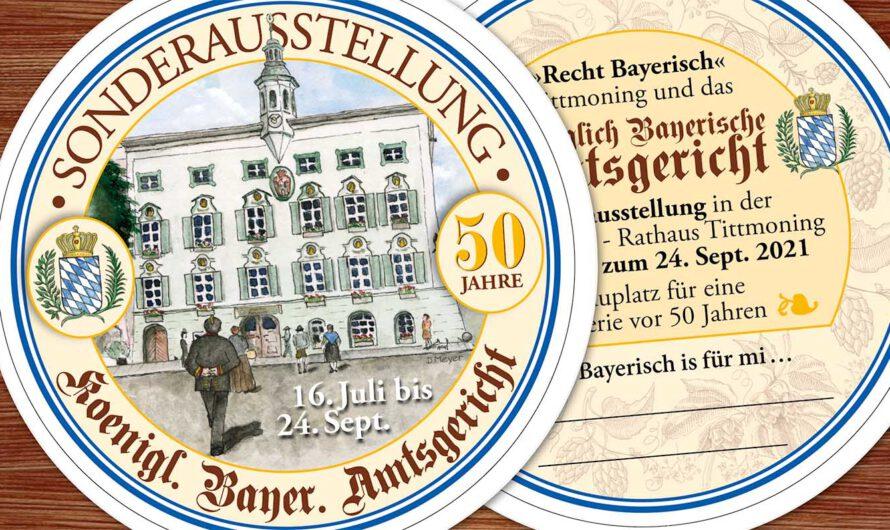 """Ausstellung """"Recht bayerisch!"""" im Rathaus"""
