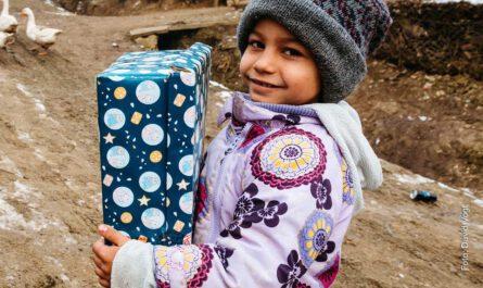 Weihnachten im Schuhkarton, Weihnachten