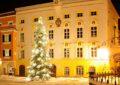 Christbaum Tittmoning, Weihnachten, Christbaum, Rathaus,