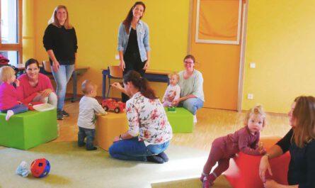 Familienstützpunkt, Haus für Kinder, Spielgruppe,
